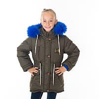 """Зимняя куртка для девочки """"Нина """" Разные цвета"""