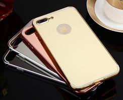 Чехол бампер для iPhone X XS зеркальный