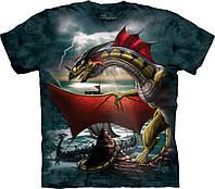 3D футболка мужская The Mountain р.M 50-52 RU футболки 3д (Страж)