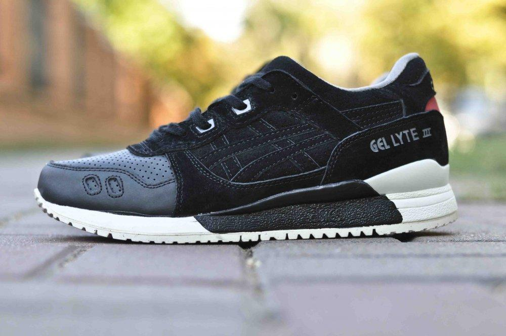 a48a631c Мужские кроссовки Asics Gel lyte III Perforated Black(ТОП РЕПЛИКА ААА+) -  Shoes