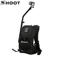 Рюкзак от SHOOT со штангой и креплениями для экшн-камер XIAOMI SJCAM GOPRO (код № XTGP403)