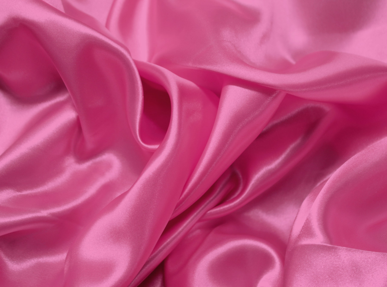 Ткань атлас малиновый