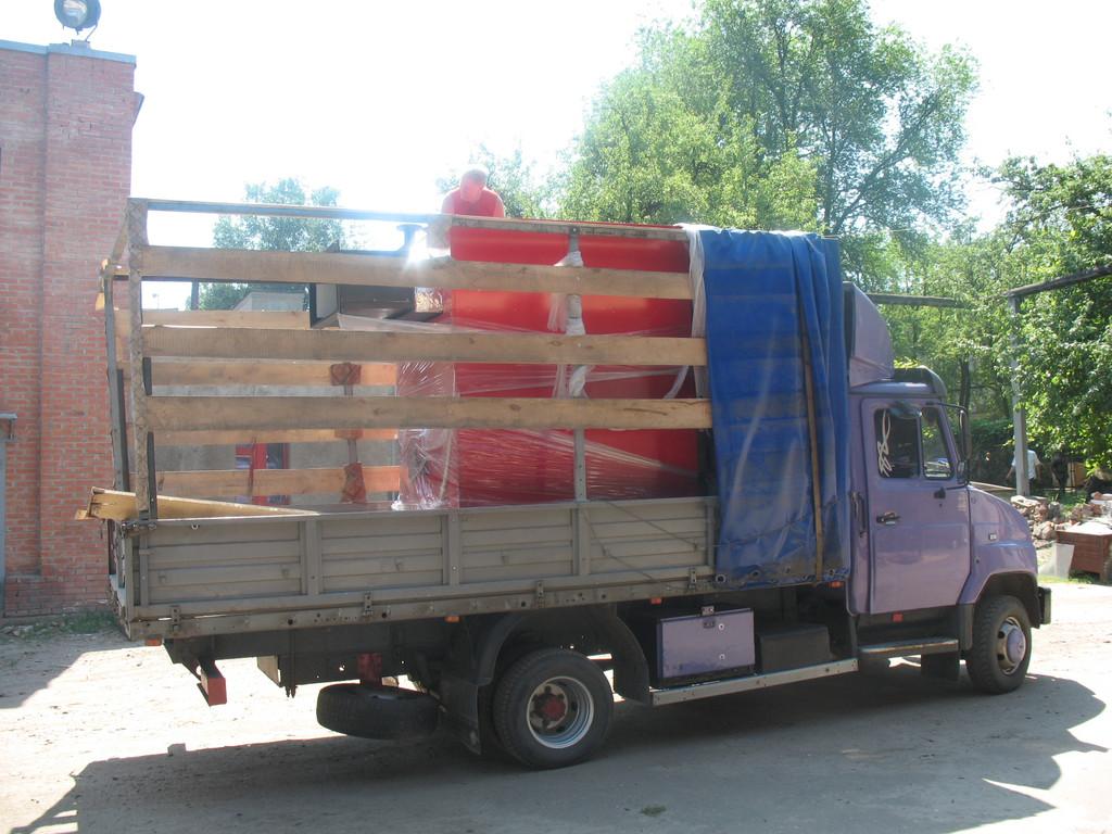 Поставка котла  на твердом топливе ARS 600 кВт (УТОГ комбинат ул.Шевченко 303) 2010 год