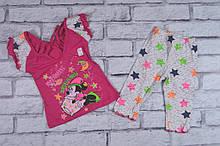 Пижама для девочек кулир-пинье+стрейч-кулир