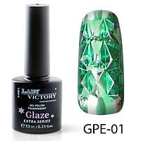 Гель-лак на прозрачной основе Lady Victory (ВИТРАЖНЫЙ) GPE-01