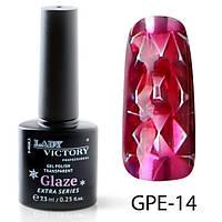 Гель-лак на прозрачной основе Lady Victory (ВИТРАЖНЫЙ) GPE-14