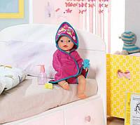 Полотенце для куклы 43 см набор для купания Baby Born Zapf Creation 819609