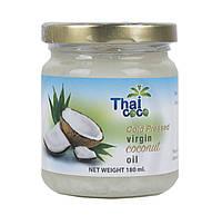Масло кокосовое холодного отжима 180 мл (Сырое/RAW), Таиланд