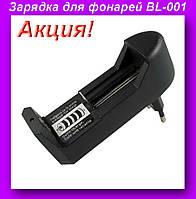 Зарядка BL-001,Универсальный сетевой адаптер для фонарей BL-001!Акция