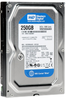Жесткий диск Western Digital Blue 250GB 7200rpm 16MB WD2500AAKX 3.5 SATA III