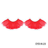 Ресницы декоративные накладные Lady Victory EYD-N-23 из натуральных перьев