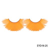 Ресницы декоративные накладные Lady Victory EYD-N-25 из натуральных перьев