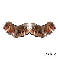 Ресницы декоративные накладные Lady Victory EYD-N-37 из натуральных перьев