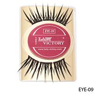 Ресницы декоративные накладные Lady Victory на половину века EYE-09