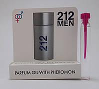 Масляные духи с феромонами 212 MEN Carolina Herrera 5 ml,оригинал