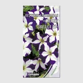 Насіння Квіти Петунія Ампельна Синя зірка F1 10 н 247600 Насіння України