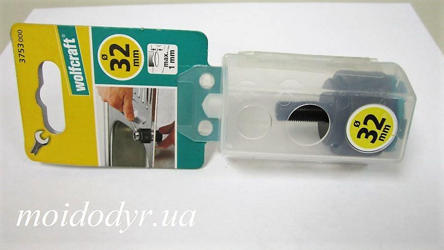 Устройство Wolfcraft  для вырезания отверстий в мойках из нержавеющей стали 32 мм