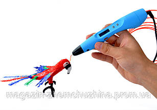 3D Ручка, 3Д ручки 3D Ручка MyRiwell, 3D моделирования ручкой, Ручка 3д для творчества, фото 2