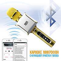 Микрофон Караоке превращает песню в фонограмму! EverStar i8 Беспроводной / Bluetooth + FM трансмиттер!