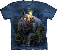 3D футболка мужская The Mountain р.2XL 60-62 RU футболки 3д (Носорог)