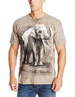 3D футболка мужская The Mountain р.S 46-48 RU футболки 3д (Король Азии)