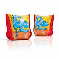 Нарукавники 56659 (36шт) рыбка, для детей с 3-6 лет