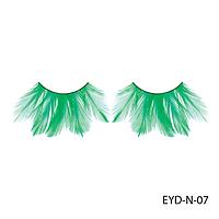 Ресницы декоративные накладные Lady Victory EYD-N-07 из натуральных перьев