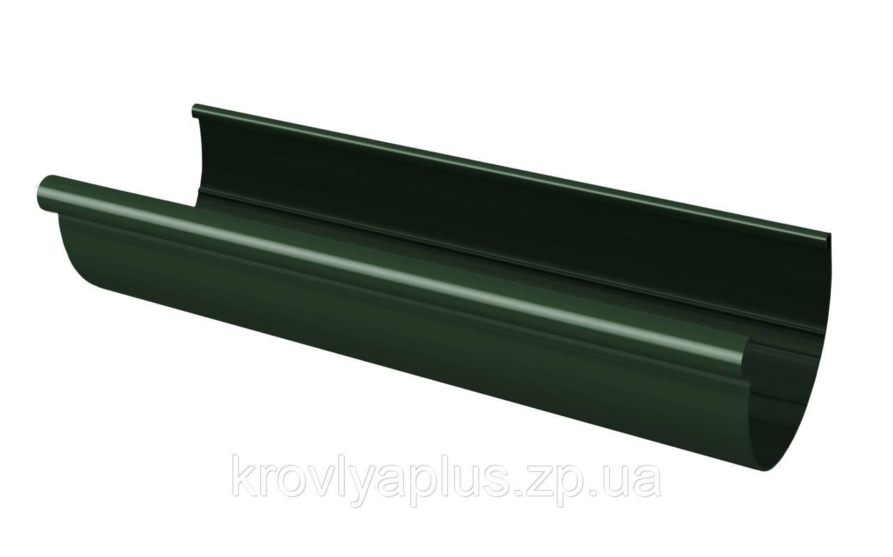 Желоб водосточный  130 зеленый,3 м,(Rainway Украина)