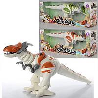 Динозавр TT329 (24шт) 39см, ходит, двиг.головой,звук, свет, 2цвета,на бат-ке,в кор-ке,42,5-16-11,5см