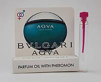 Масляные духи с феромонами Bvlgari Aqua pour homme 5 ml (реплика)