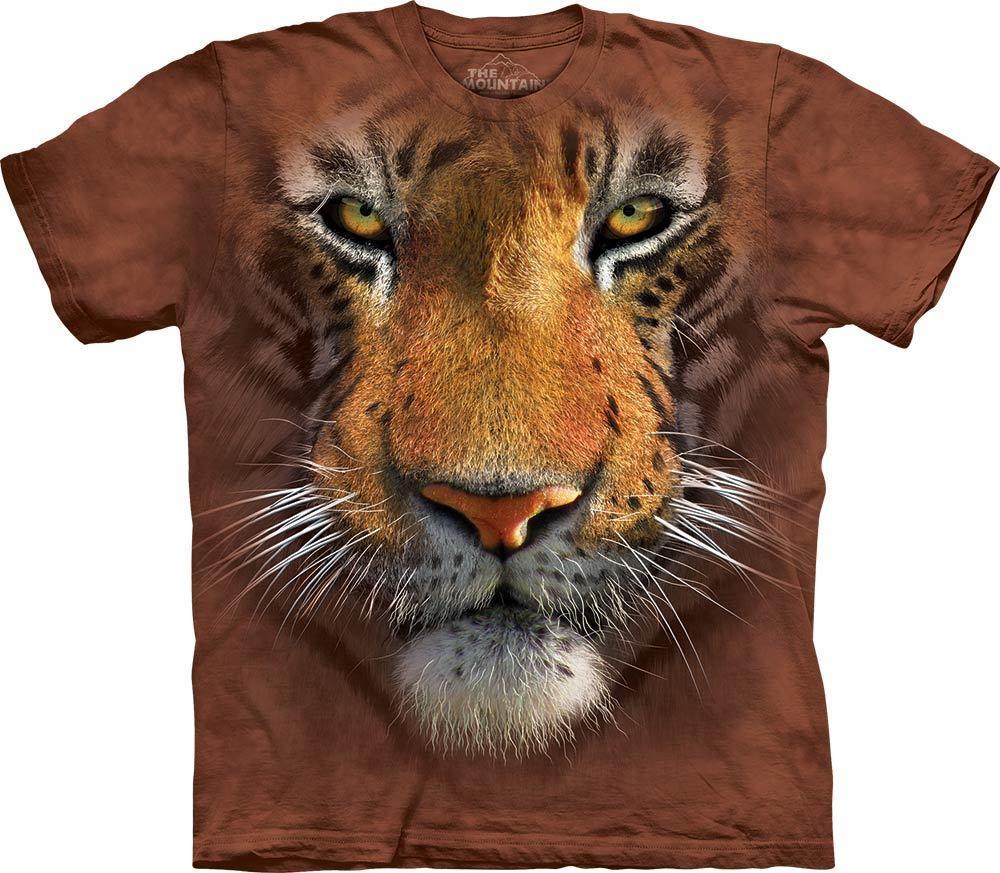 3D футболка мужская The Mountain р.L 56-58 RU футболки мужские с 3д рисунком (Тигр)