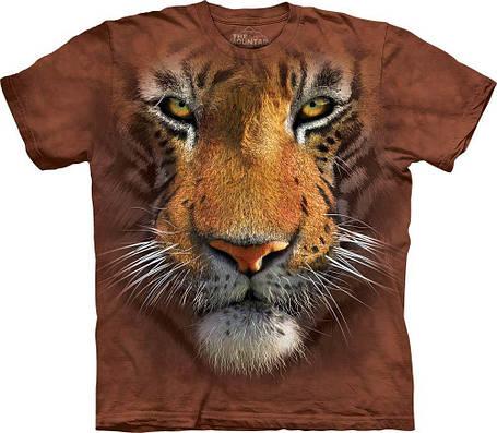 3D футболка мужская The Mountain р.L 56-58 RU футболки мужские с 3д рисунком (Тигр), фото 2