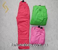 Штаны лыжные на подтяжках для девочек GLO-STORY 134/140-170 Р.Р.