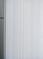 Панель ПВХ Decomax ламинированная  0,25*2.7*0,008 (Грей рипс), фото 1