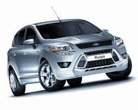 Поперечины на рейлинги Ford Kuga (2008-2013)