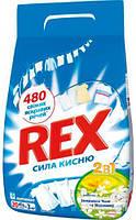Стиральный порошок Rex автомат 2 в 1 Зелений Чай и Жасмин, 3 кг, 20 циклов стирки (9000100810821)