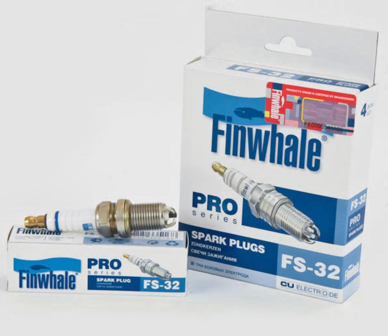 Свеча зажигания трехэлектродная Finwhale FS-32