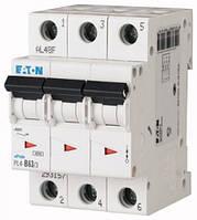Автоматический выключатель 3-полюсный PL4-C40/3 Moeller-EATON ((CQ))(293164-)3/40, 293164