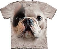 3D футболка мужская The Mountain р.2XL 62-64 RU футболки 3д (Большой Мопс)