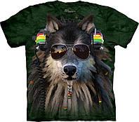 3D футболка мужская The Mountain р.2XL 62-64 RU футболки 3д (Волк)