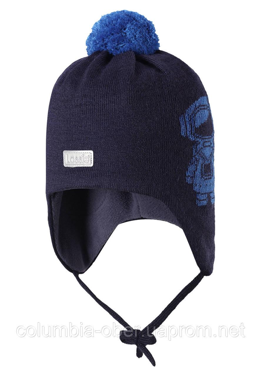 Зимняя шапка для мальчика Lassie by Reima 718725-6960. Размер S.
