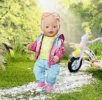 Одяг для велопрогулянки ляльки бебі борн, в коробці Zapf Creation Baby born 823705