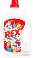Гель для стирки Rex Колор с ароматом Цветущая сакура, 3,96 л, 60 циклов стирки