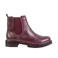 Женские ботинки Max Mayar 696909-4_2-14-1 борд. кож.