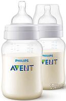 Бутылочка для кормления Philips Avent Classic SCF563/27, 2x260 мл