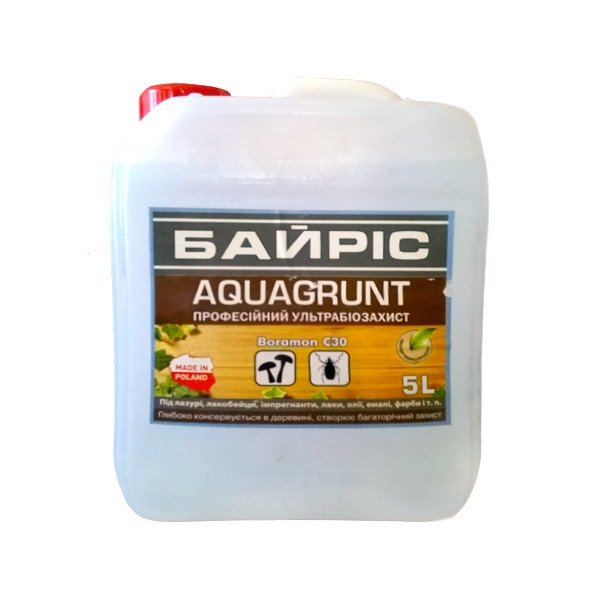 AQUAGRUNT Ультрабиозащита для древесины 10 л.