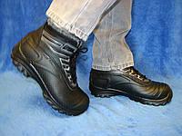 Мужские зимние сноубутсы дутики ботинки на шнуровке 40-45 41