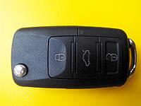 Заготовка выкидного ключа Volkswagen три кнопки #23