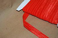 Бейка резинка трикотаж красный
