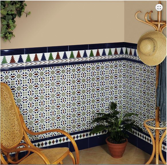 Плитка марокканская Zócalos Alhambra